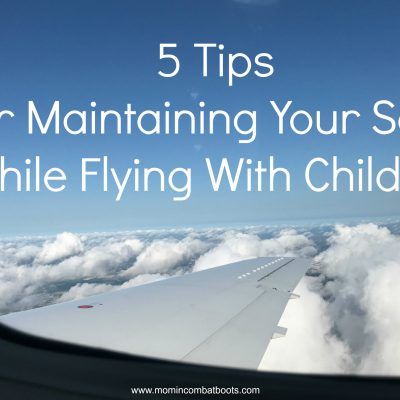 5 Tips for Maintaining Your Sanity While Flying with Children