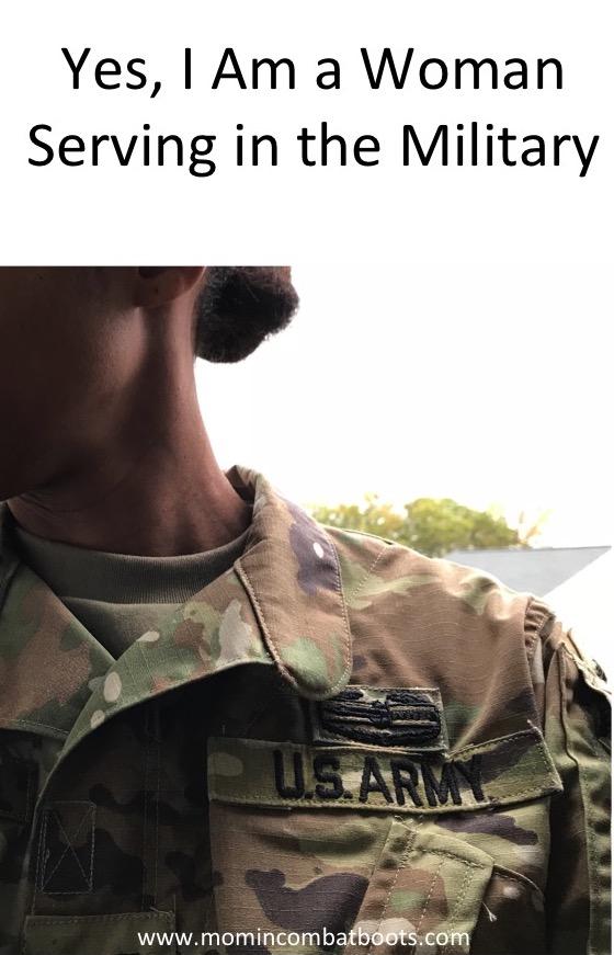 Military women serving