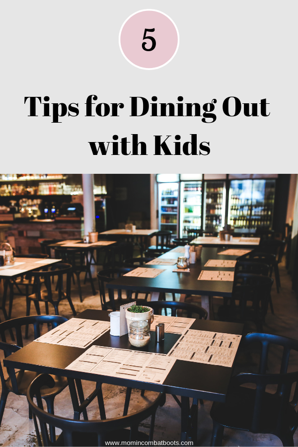eating out with kids, dining out with kids, restaurants with kids