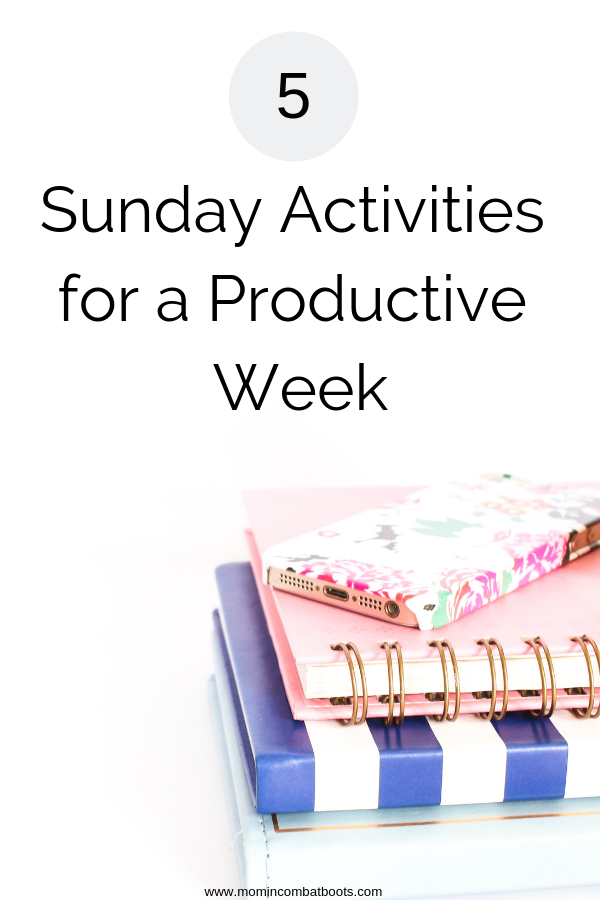 sunday activities for a productive week