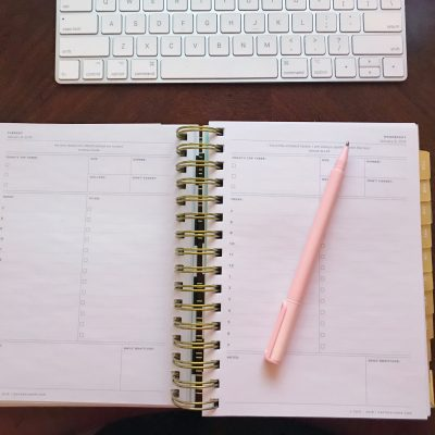 How I Organize My Planner
