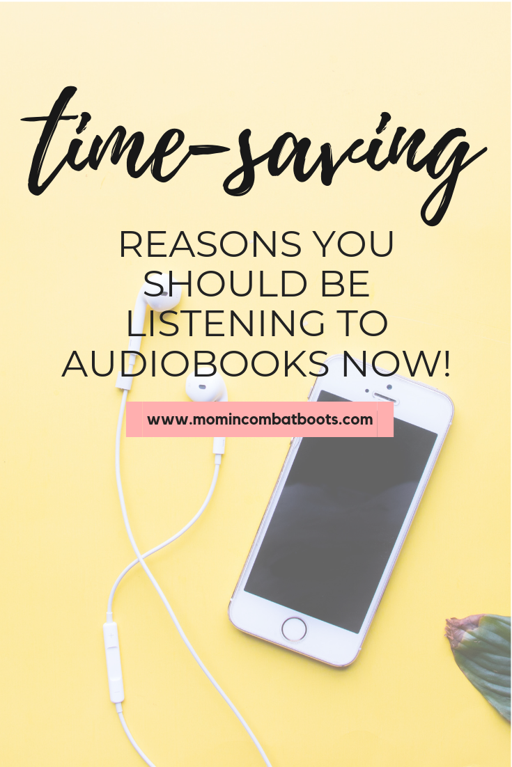 Why I Love Audiobooks And Why You Should Too! - Mom In Combat Boots. Audiobooks have helped in increasing my productivity. Here's how you can multitask and increase your productivity while listening to audiobooks.
