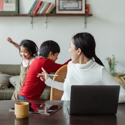 How To Productively Work From Home While Your Kids Learn Virtually